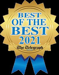 Best of the Best 2021 Macon Telegraph logo